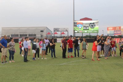Irving Hispanic Chamber Night at Irving FC Soccer Game- group