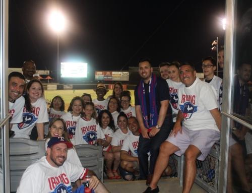 Irving Hispanic Chamber Night at Irving FC Soccer Game