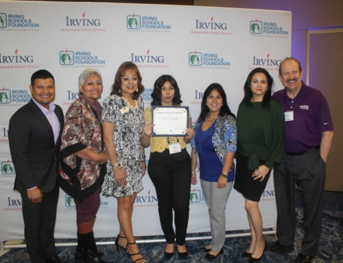 IHCC Recently gave out 4 scholarships to Irving ISD Students!
