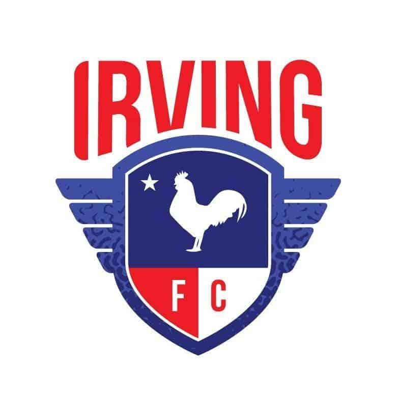Irving FC Soccer Team Logo